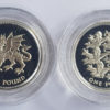 2000/2002 £1 Silver Proof Set