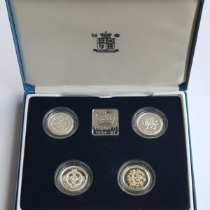 1994 - 1997 United Kingdom Silver Proof £1 Collection