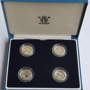 2003 United Kingdom Silver Proof Pattern Collection