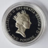 """1996 United Kingdom """"Football"""" Silver Proof £2 Coin"""