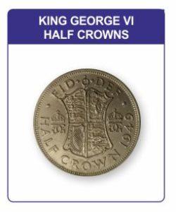 King George VI Half Crown