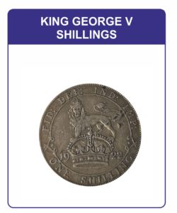 King George V One Shillings