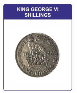 King George VI Shillings