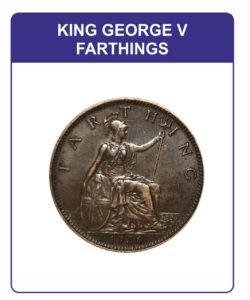 King George V Farthing