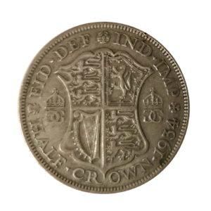 1934 Half Crown