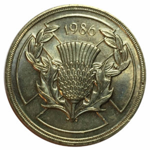 1986 Two Pounds Coin