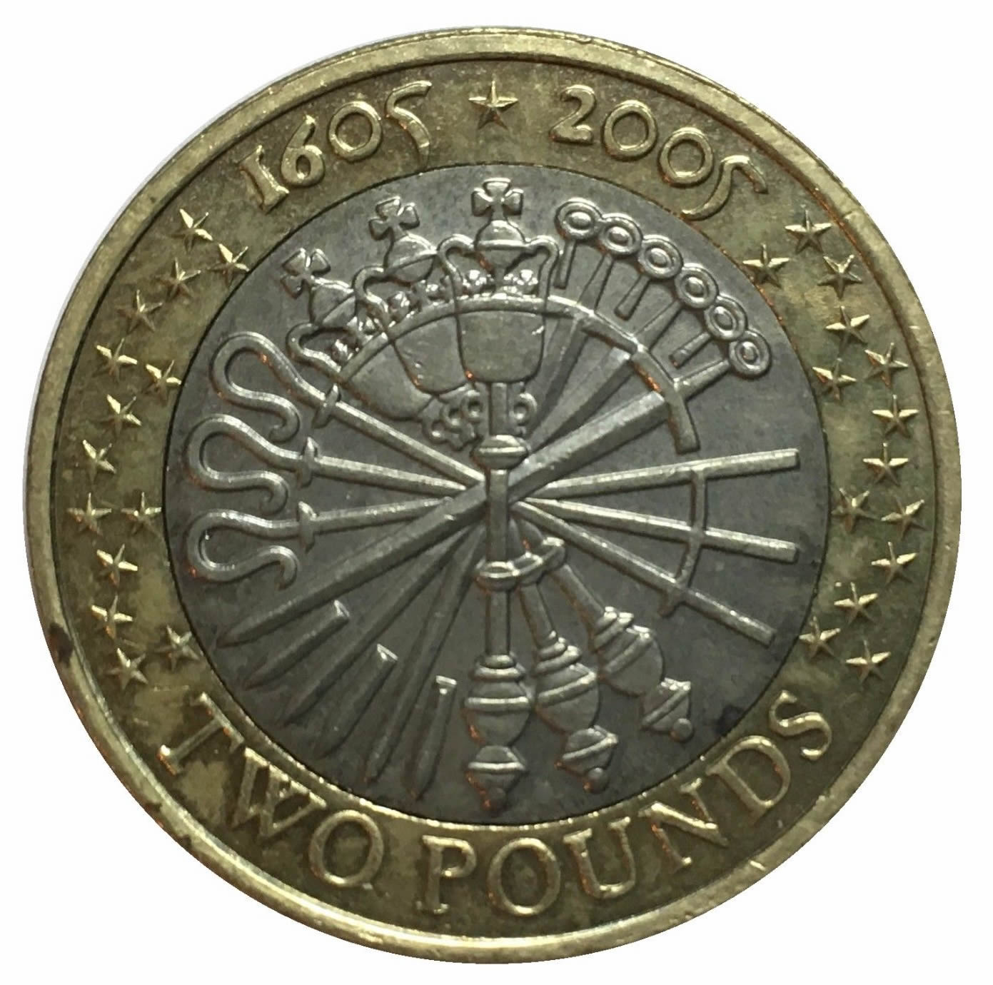 2005 two pound coin