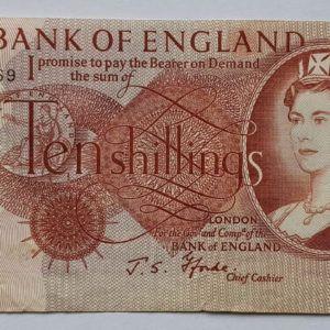 FForde Ten Shillings Note