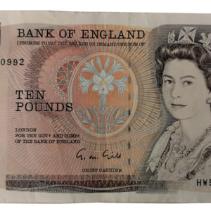 Gill Ten Pounds Note
