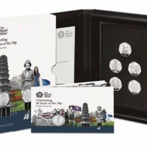 2019 Culture Set incl. Kew Gardens 50p