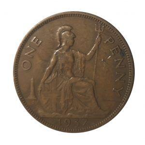 1937 United Kingdom Penny