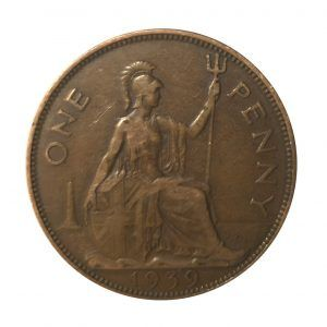 1939 King George VI Penny