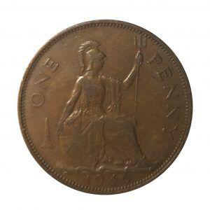 1940 King George VI Penny