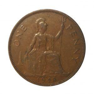 1948 King George VI Penny