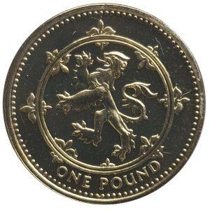 1999 One Pound Coin