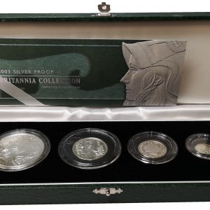 2003 Royal Mint Silver Proof Britannia Collection