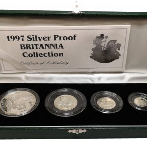1997 Royal Mint Silver Proof Britannia Collection