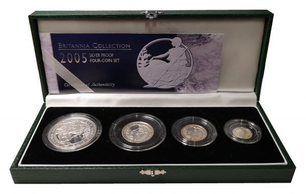 2005 Royal Mint Silver Proof Britannia Collection