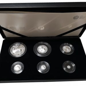 2019 Royal Mint Silver Britannia Proof Set