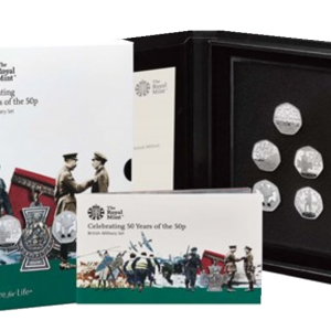 2019 Royal Mint Culture Basic Proof Set - Military