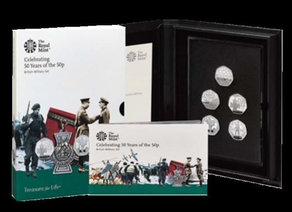 2019 Royal Mint Culture Basic Proof Set - Military