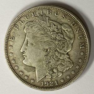 1921 US Morgan Dollar