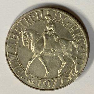 1977 UK Commemorative Crown